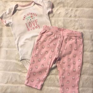 Carter's owl outfit